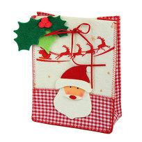 Сумочка подарочная 19*15*8 см ″Дед мороз″ купить оптом и в розницу