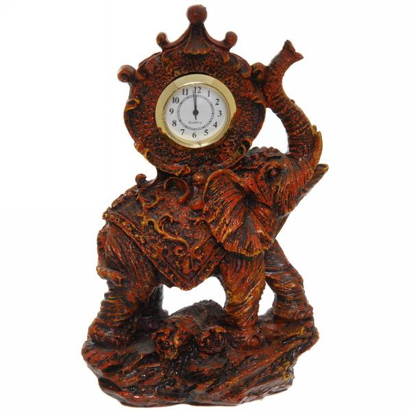 Часы сувенирные под дерево ″Слон″ 9197 купить оптом и в розницу