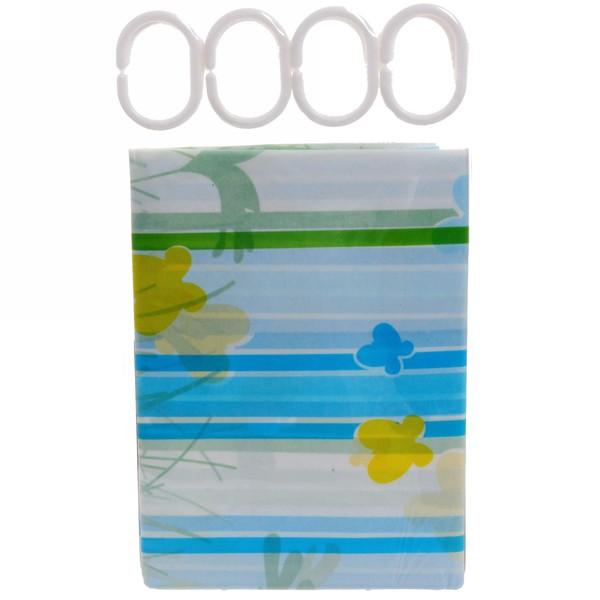 Штора для ванной 180х180 ″Селфи″ PVC C041407 купить оптом и в розницу