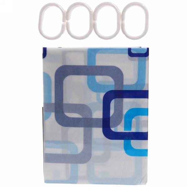 Штора для ванны 180х180 ″Селфи″ PVC 003 купить оптом и в розницу