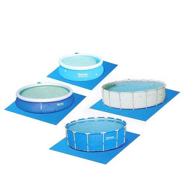 Ковер для надувных и каркасных круглых бассейнов 274*274 см Bestway (58000) купить оптом и в розницу