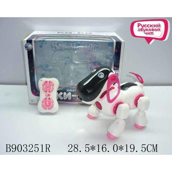 Робот 2089 на бат. Собака /ходит, лает/ в кор. купить оптом и в розницу