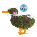 Садовая фигура ″Утка″, солома, 17 см купить оптом и в розницу