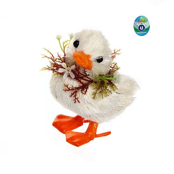 Садовая фигура ″Утенок″, солома, 10 см купить оптом и в розницу