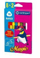 Фломастеры  8цв+2 CENTROPEN Magic купить оптом и в розницу