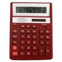 Калькулятор CITIZEN настольный 12раз красный 203,2*158*31мм купить оптом и в розницу