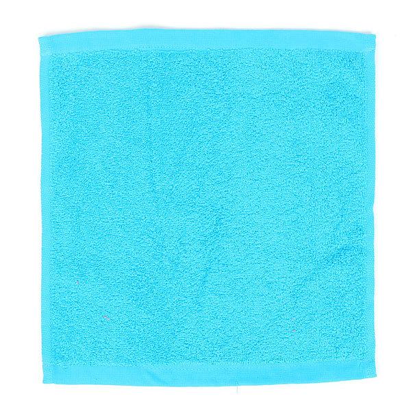 Махровое полотенце 30*30см Бирюзовое купить оптом и в розницу