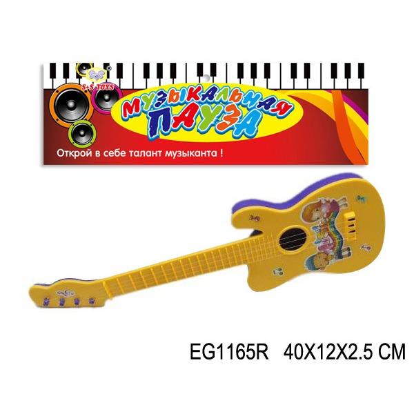 Гитара 702-1В/1165EGR в пак. купить оптом и в розницу