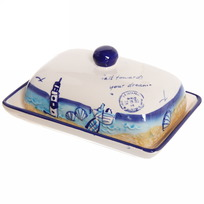 Масленка керамическая ″Морской прибой″ М117058-2 купить оптом и в розницу