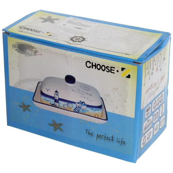 Масленка керамическая ″Морской прибой″ купить оптом и в розницу