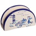 Салфетница ″Морской прибой″, керамика М117077 купить оптом и в розницу