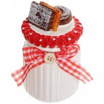 Банка для сыпучих продуктов ″Печеньки″ 300мл, керамика ZL150720-3 купить оптом и в розницу