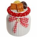 Банка для сыпучих продуктов ″Печеньки″ 600мл, керамика купить оптом и в розницу