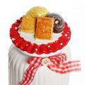 Банка для сыпучих продуктов ″Печеньки″ 1000мл, керамика ZL150720-1 купить оптом и в розницу