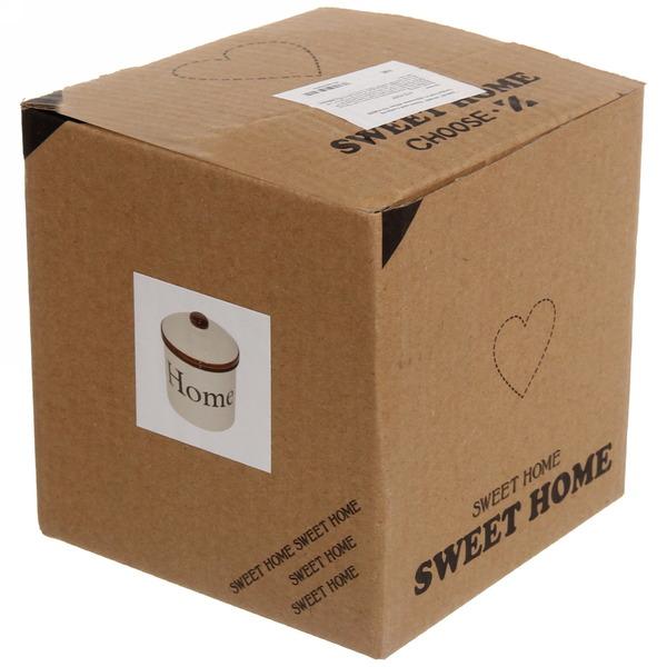 Банка для сыпучих продуктов ″Sweet Home″ 400мл, керамика купить оптом и в розницу