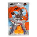 Теннис настольный Ракетки 2 шт. + шарики 3 шт. MK 0219 купить оптом и в розницу