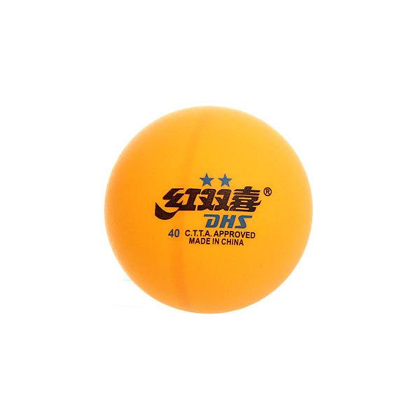 Шарики для настольного тенниса Star 2, 40 мм, желтый, 6 шт в коробке купить оптом и в розницу