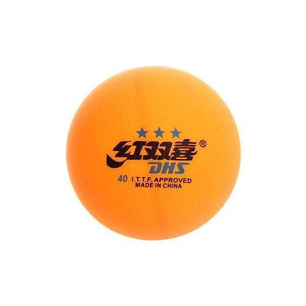 Шарики для настольного тенниса Star 3, 40 мм, желтый, 6 шт в коробке купить оптом и в розницу