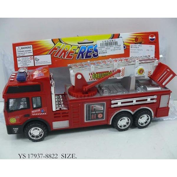 Машина инерц. 8822-SH Пожарная в пак. купить оптом и в розницу