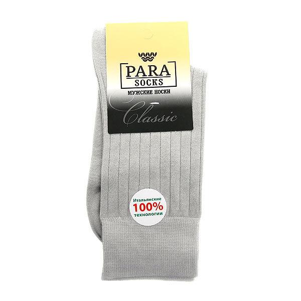 Носки мужские PARA Socks, полоски, цвет светло-серый р. 29 купить оптом и в розницу