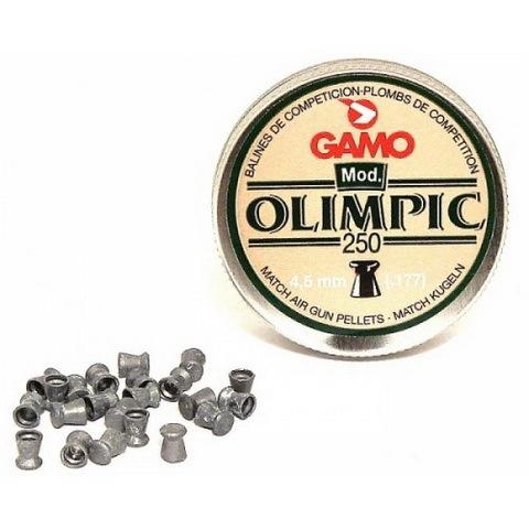 Пуля пневматическая Gamo Olimpic, 4,5 мм, 0,49 гр (250 шт) купить оптом и в розницу
