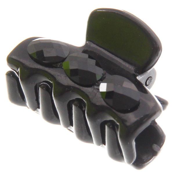 Заколка-краб с камнем (12) МК-0191/12 купить оптом и в розницу