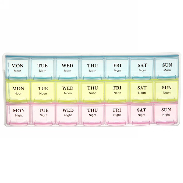 Контейнер для таблеток 900-5038 21,5х9,2х2,2 купить оптом и в розницу