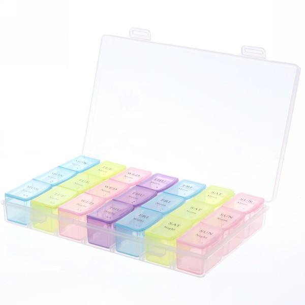Контейнер для таблеток 21 ячейка 17,5х10,7х2,5 900-5088 купить оптом и в розницу