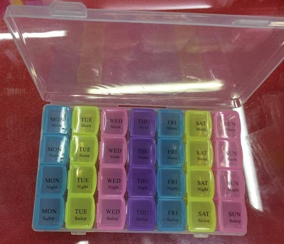 Контейнер для таблеток 900-5098 17,5х10,7х2,5 купить оптом и в розницу