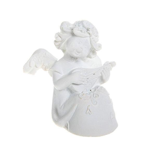 Фигурка из полистоуна ″Белый Ангел″ 5*3,5 см купить оптом и в розницу