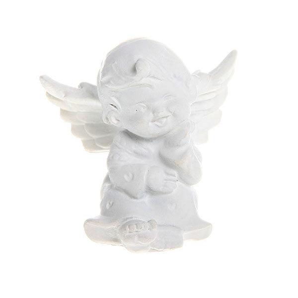 Фигурка из полистоуна ″Белый Ангел″ 5*5см (цена за 1шт) L052 купить оптом и в розницу