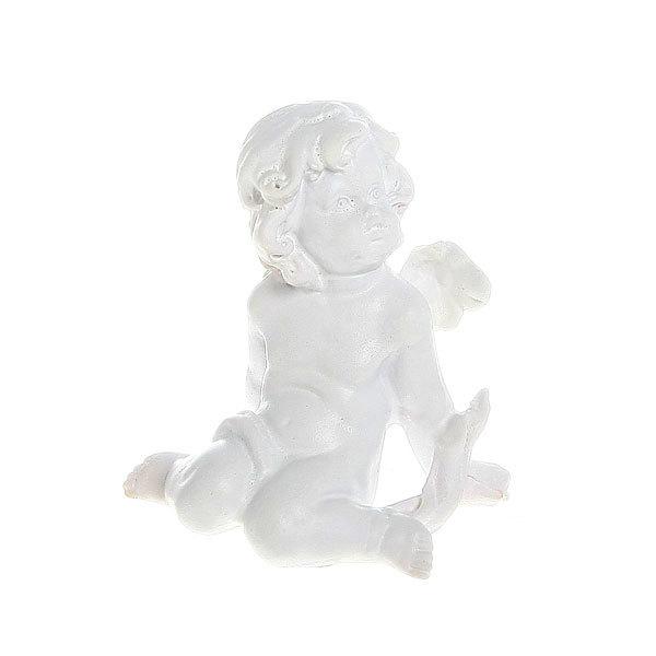 Фигурка из полистоуна ″Белый Ангел″ 6,5*3,5см (цена за 1шт) L359В купить оптом и в розницу