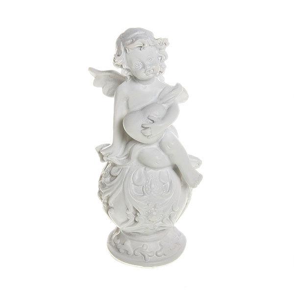 Фигурка из полистоуна ″Белый Ангел″ на шаре 11,5*5см (цена за 1шт) L340 купить оптом и в розницу