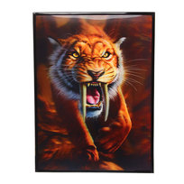 Картина с голограммой 30*40см ″Саблезубый тигр″ Н-111 купить оптом и в розницу
