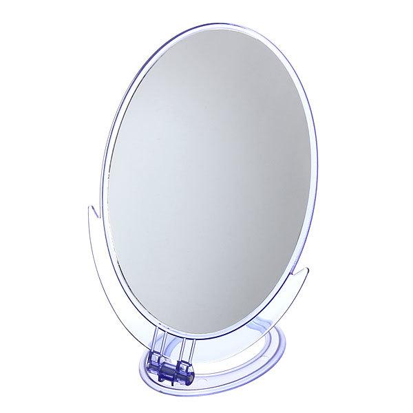 Зеркало настольное в пластиковой оправе ″Классика - Практика″ овал, подвесное 32см купить оптом и в розницу