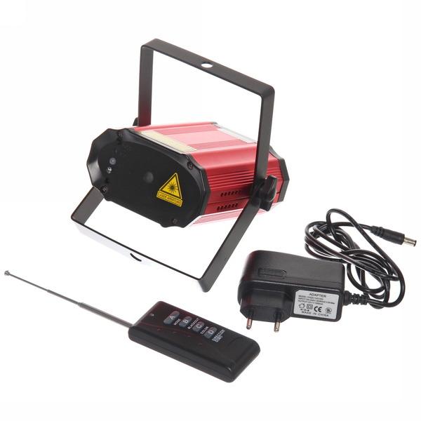 Световой прибор Лазер WS-017-C1- RG, mic+авто, (200mw), ПДУ купить оптом и в розницу