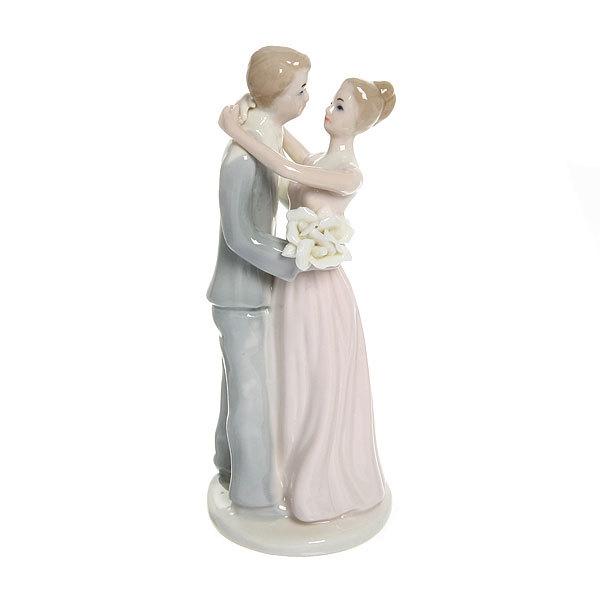Статуэтка из керамики ″Свадебная коллекция″ Счастье 20см SТ1004603 купить оптом и в розницу