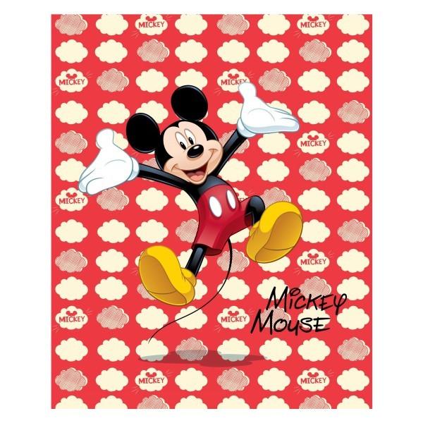 Плед 130*160см Микки Маус флисовый 60603 купить оптом и в розницу