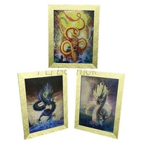 Картина голограмма 30*40см ″Дракон″ G 3/1 MJ-902 купить оптом и в розницу