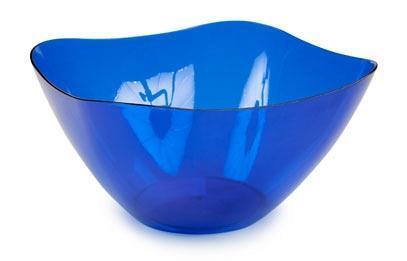 Салатник Ice 2л. (синий полупрозрачный)*40 купить оптом и в розницу