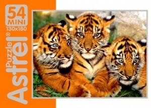 Пазл 54 Мир животных 4 вида 5411 Астрайт /160/ купить оптом и в розницу