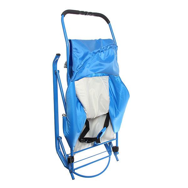 Санки-коляска Аленушка-2 козырек, ремень купить оптом и в розницу