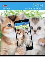 """Тетрадь 48л.кл.скрепка HATBER, """"Selfie"""" купить оптом и в розницу"""