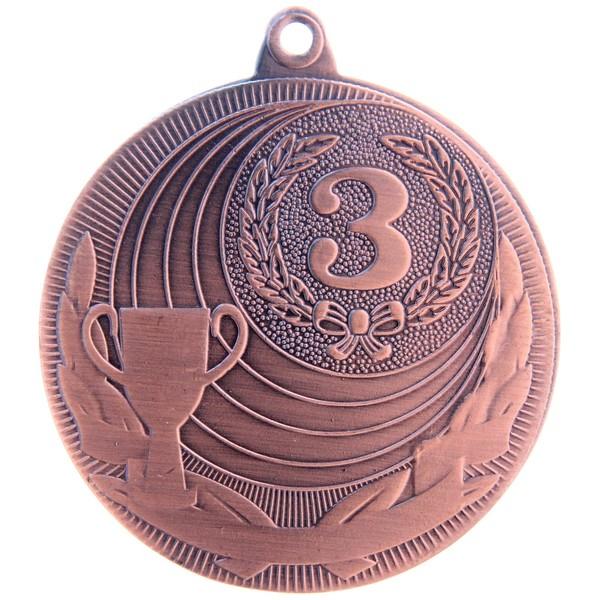 Медаль бронза d50мм (3 место) купить оптом и в розницу