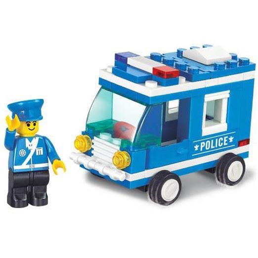 Констр-р 38-0177МВ Полиция 64 дет.в кор. купить оптом и в розницу