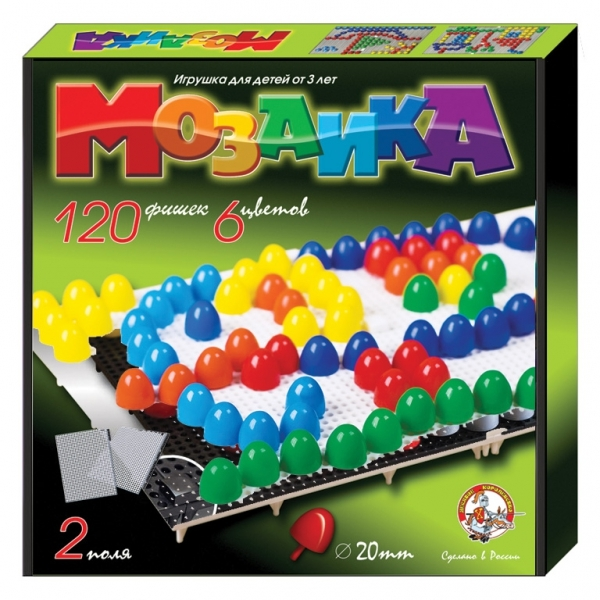 Мозаика 20/120 цветн. 02001 купить оптом и в розницу