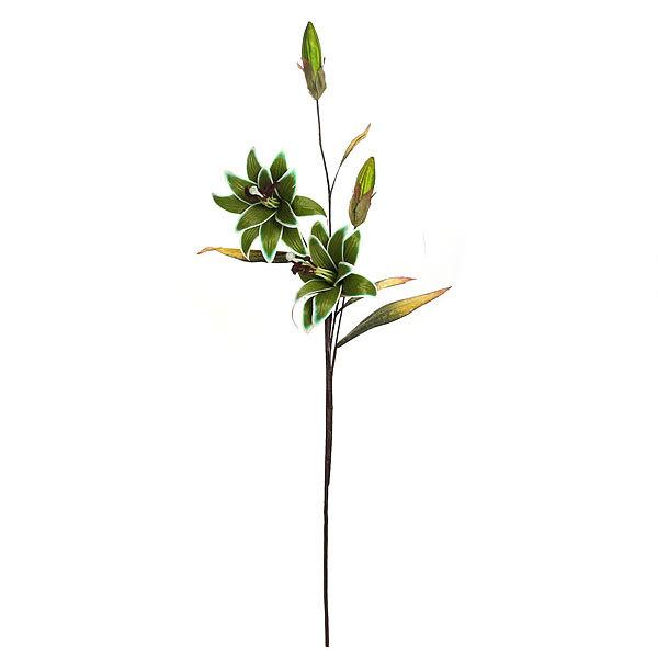 Цветок искусственный 93см ветка Лилии А499 купить оптом и в розницу