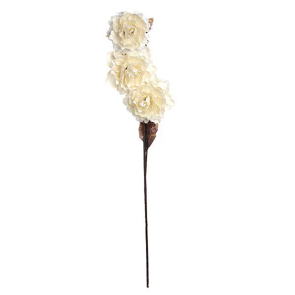 Цветок искусственный 84см ветка Пионы купить оптом и в розницу