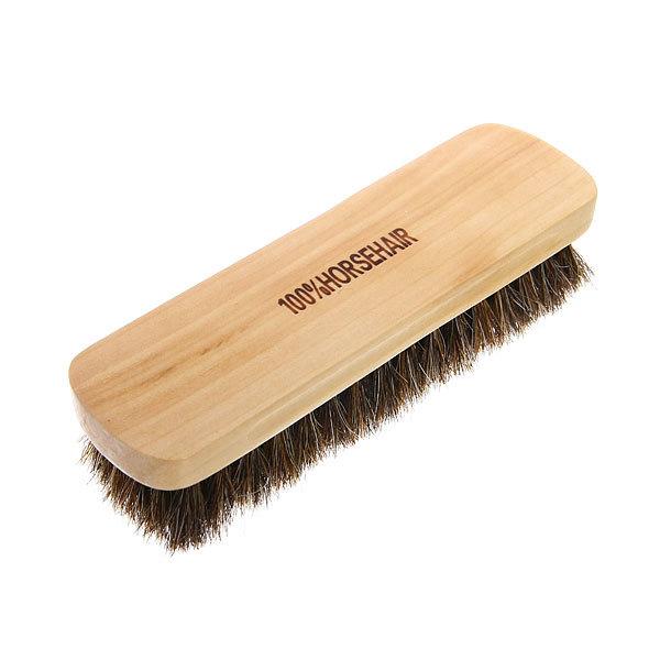 Щетка для обуви деревянная, конский волос купить оптом и в розницу