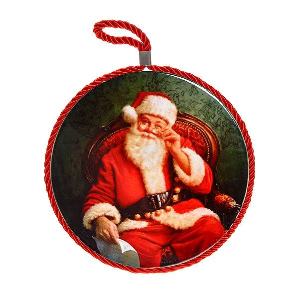 Подставка под горячее керамическая ″Дед Мороз″ 16 см в ассортименте купить оптом и в розницу